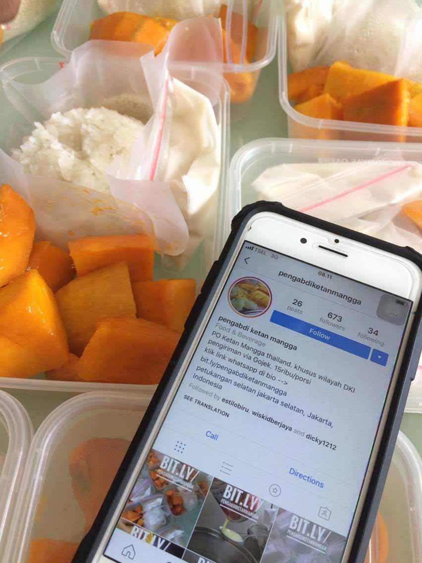 Mango Sticky Rice Jakarta yang Super Legit