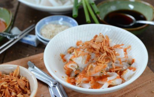 Sajian Nikmat dari Resep Cheong Fun Udang